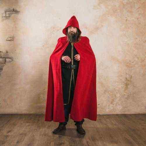 Long Medieval Cloak