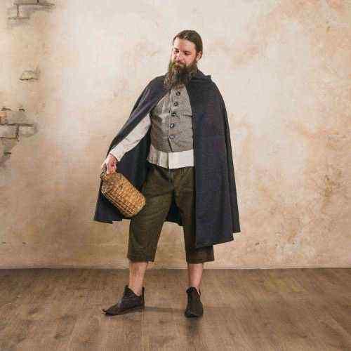 Short Medieval Cloak