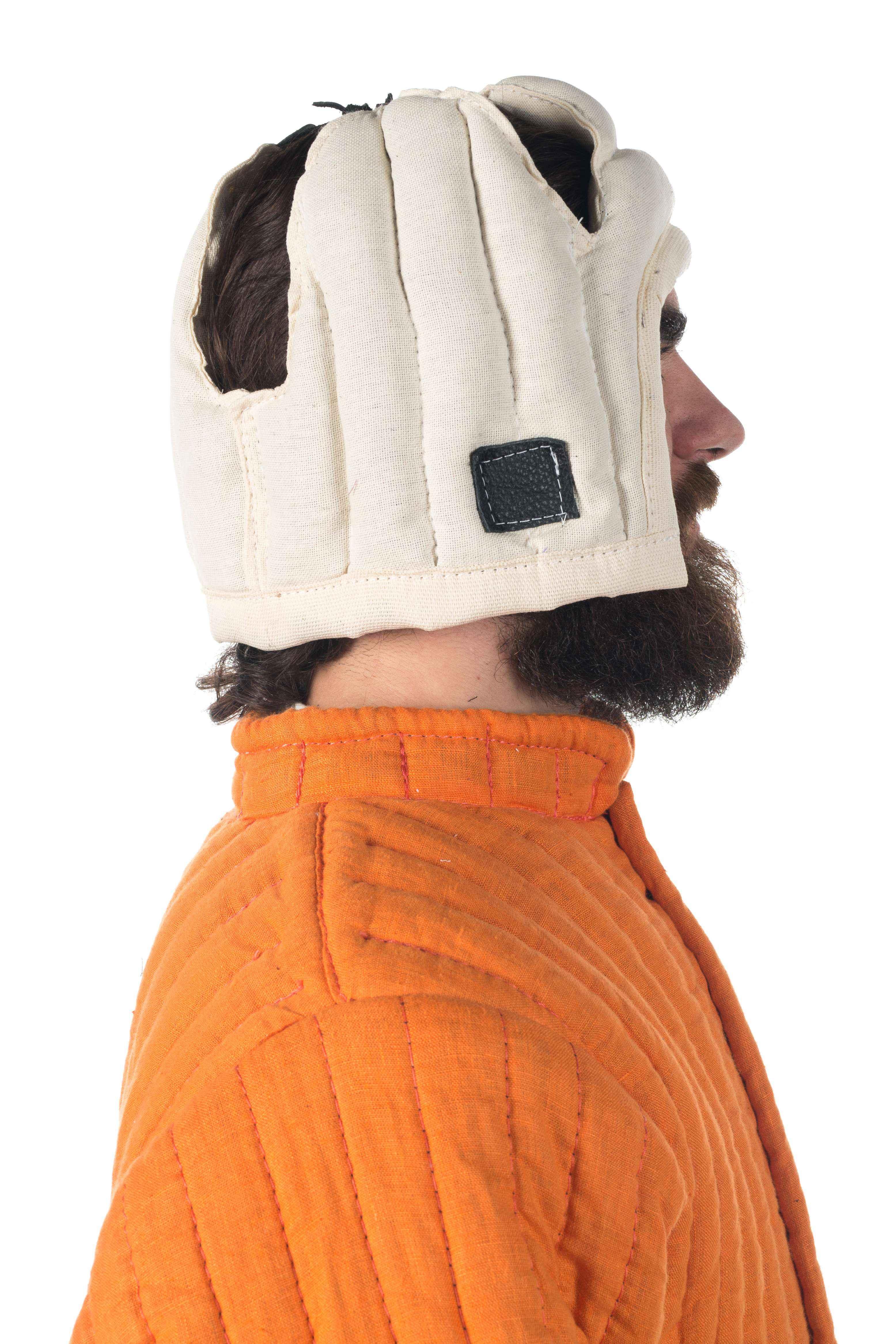 Liner For Bascinet Helmet - for sale armoryworld com